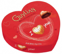 Guylian Praline Chocolate Hearts 105g